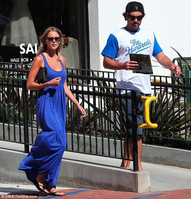 Brody Jenner Out with his new girlfriend Kaitlynn Carter in Malibu ...