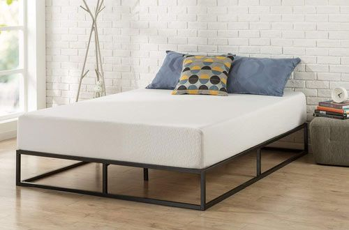 Top 10 Best Metal Twin Bed Frames For Mattress Reviews In