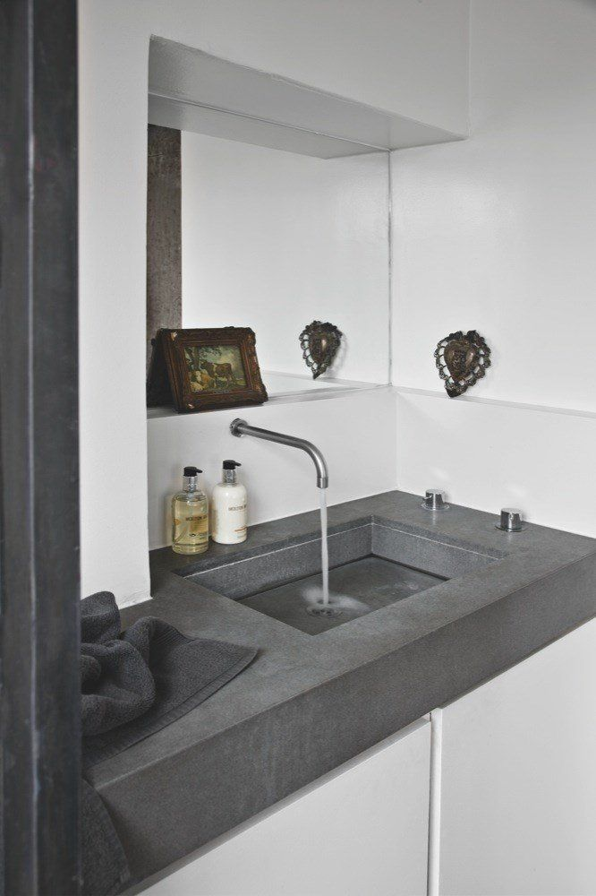 Concrete Sink | Bathroom Trend | Industrial Style | Interior Design | Beton  Design | Betonlook