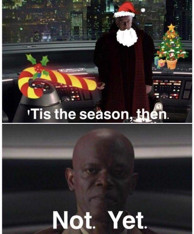 Every October Star Wars Humor Star Wars Memes Star Wars Facts