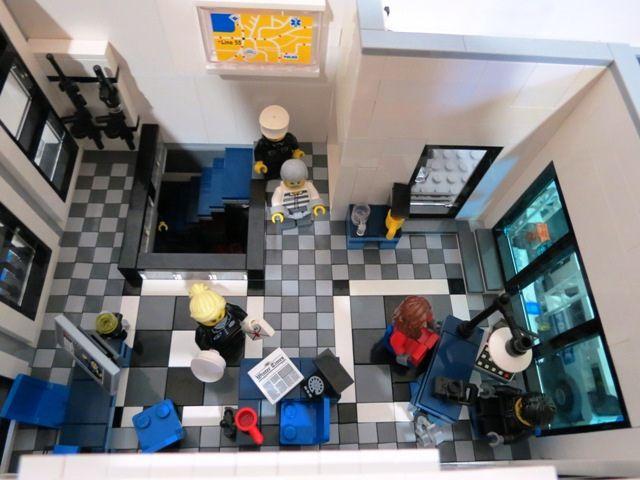 Police Headquarters 1 Lego Police Lego Lego Police Station
