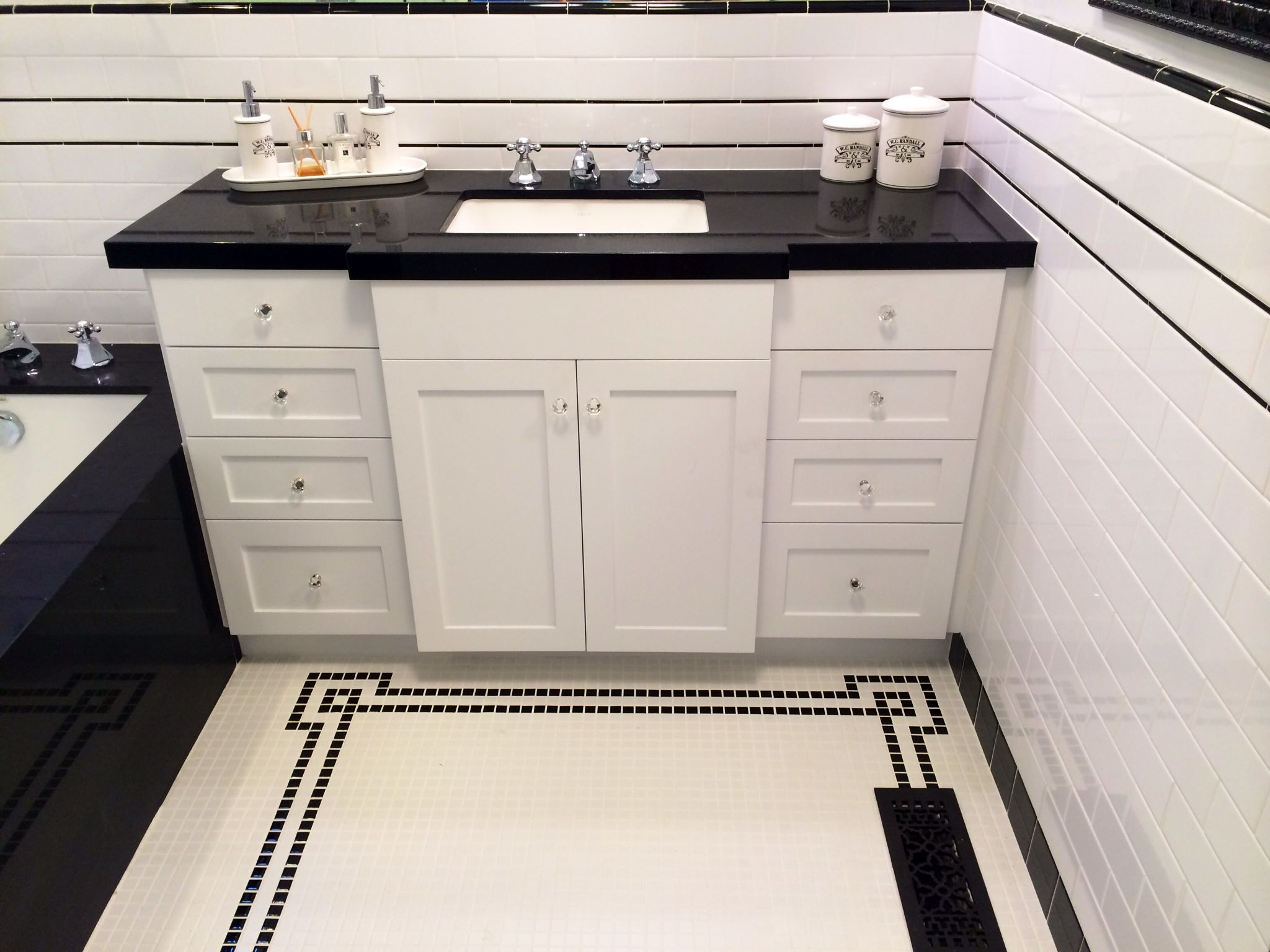 1930s Bathroom Remodel Before and After! | Bathrooms ...