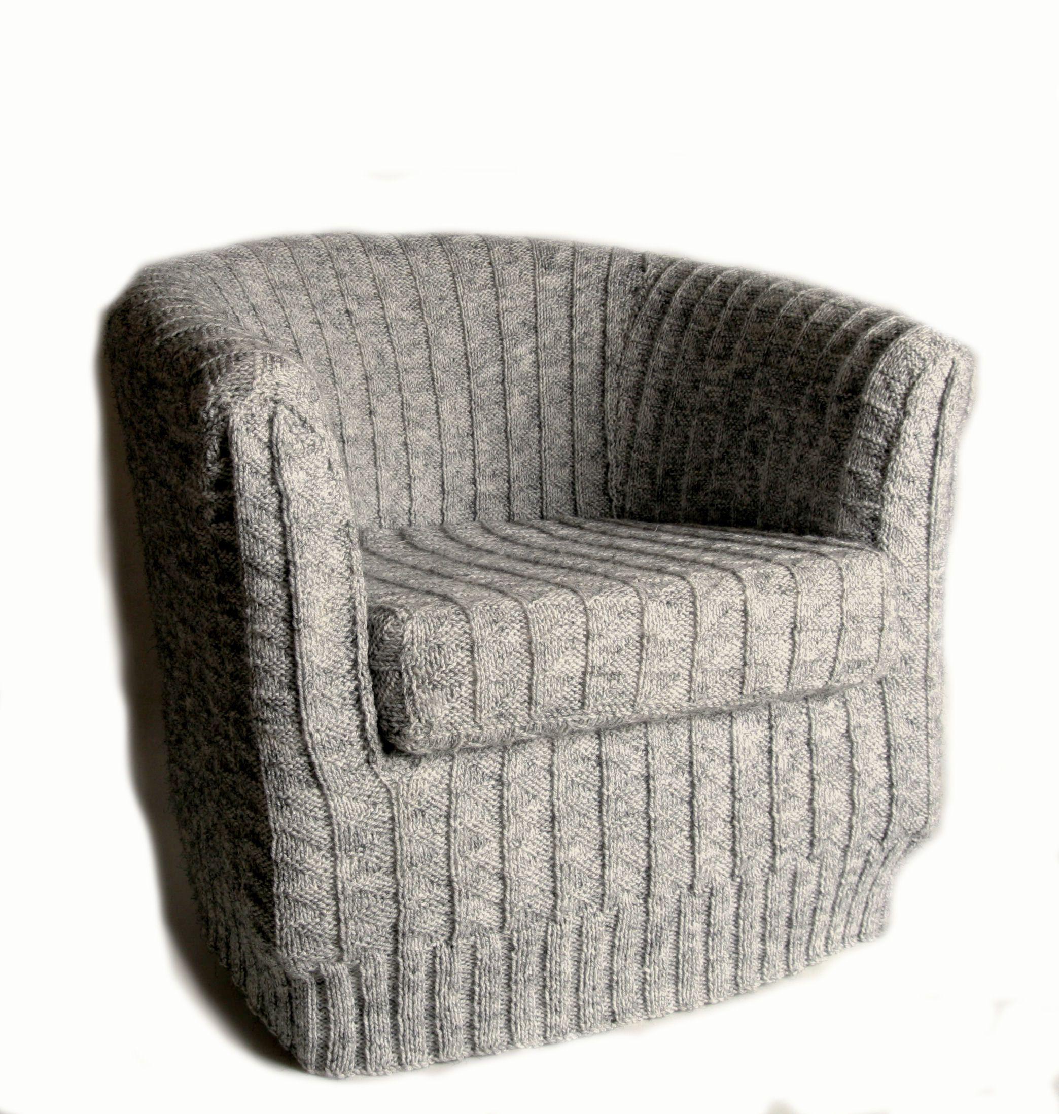 tub chair covers ireland koken barber chairs www sham store sneak peak at aw12 toft alpaca s knitted cover rh pinterest com australia