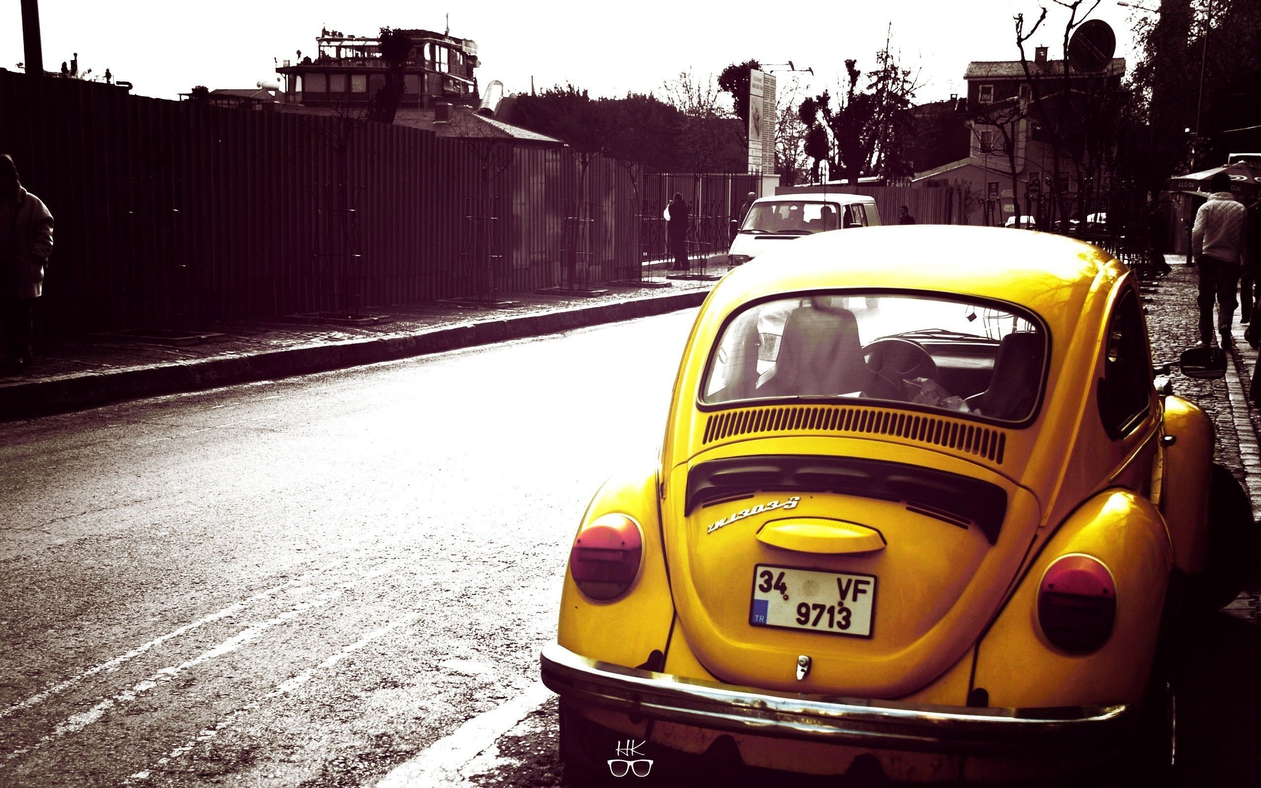 Yellow Classic Vw Beetle I Would Have Never Noticed Or Appreciated