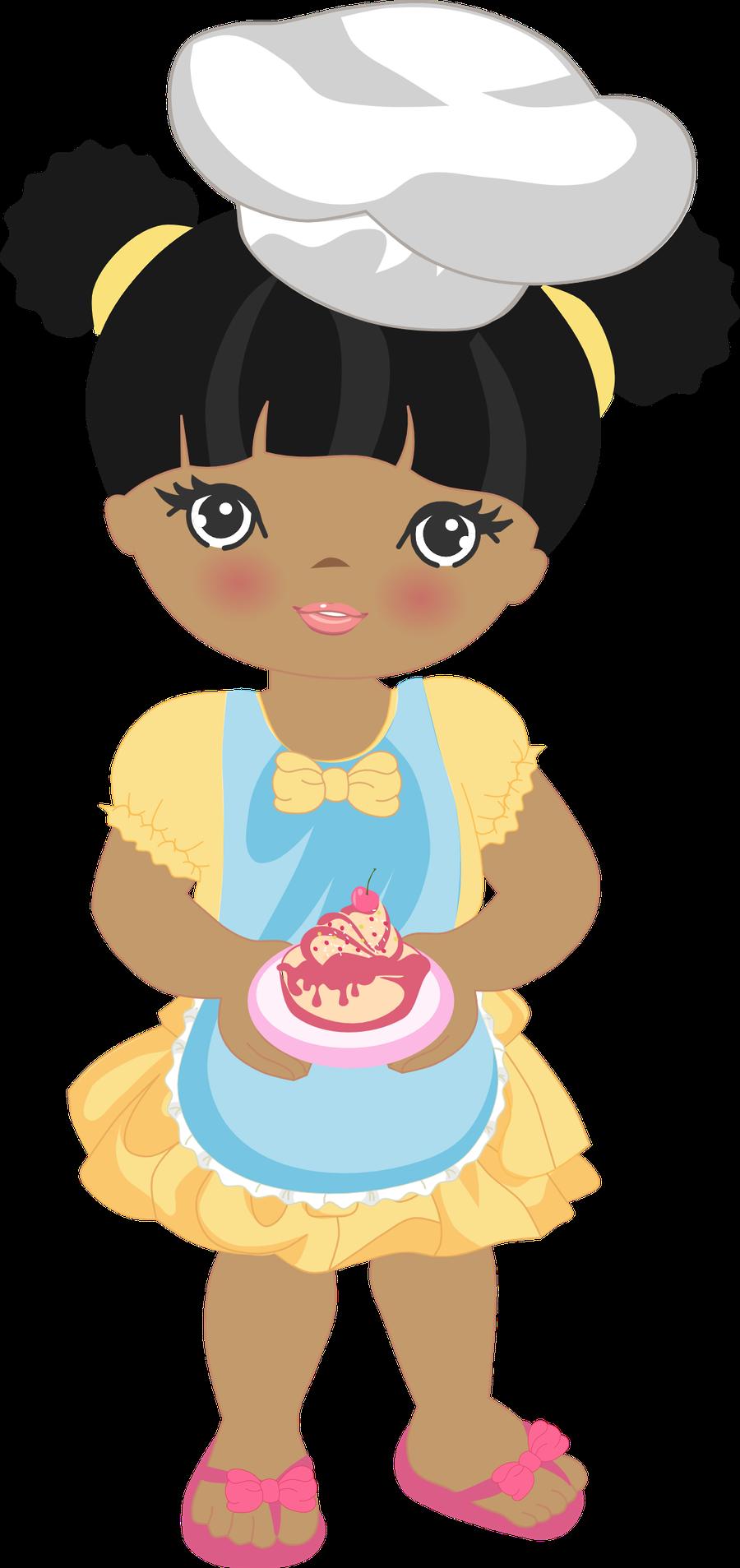 Minus Say Hello Desenhos De Bonecas Negras Arte De Cozinha