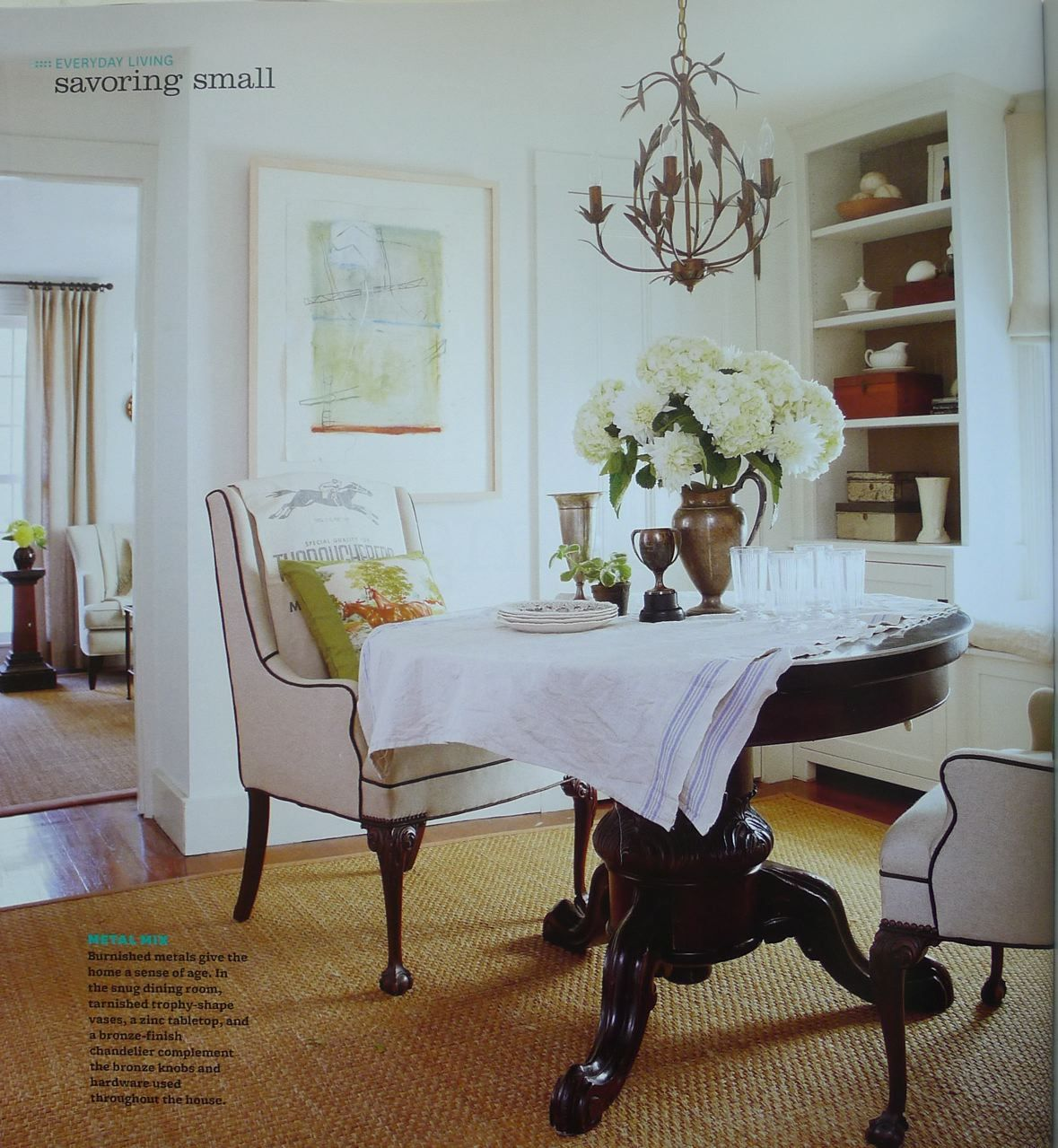 Country Cottage Style Dining Rooms: An Urban Cottage: Cottage Style Preview