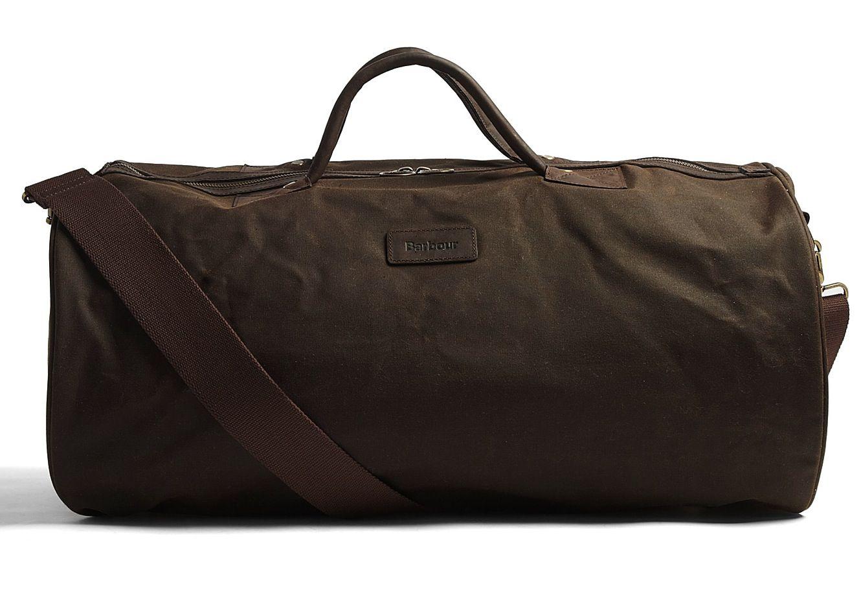 55cb5b06d Barbour Waxed Cotton Barrel Bag   Style   Barrel bag, Barbour wax ...