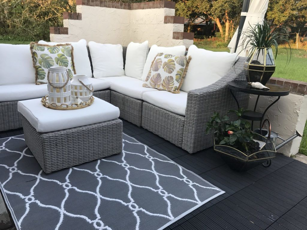 Our Outdoor Oasis Oasis, Small patio, Outdoor spaces
