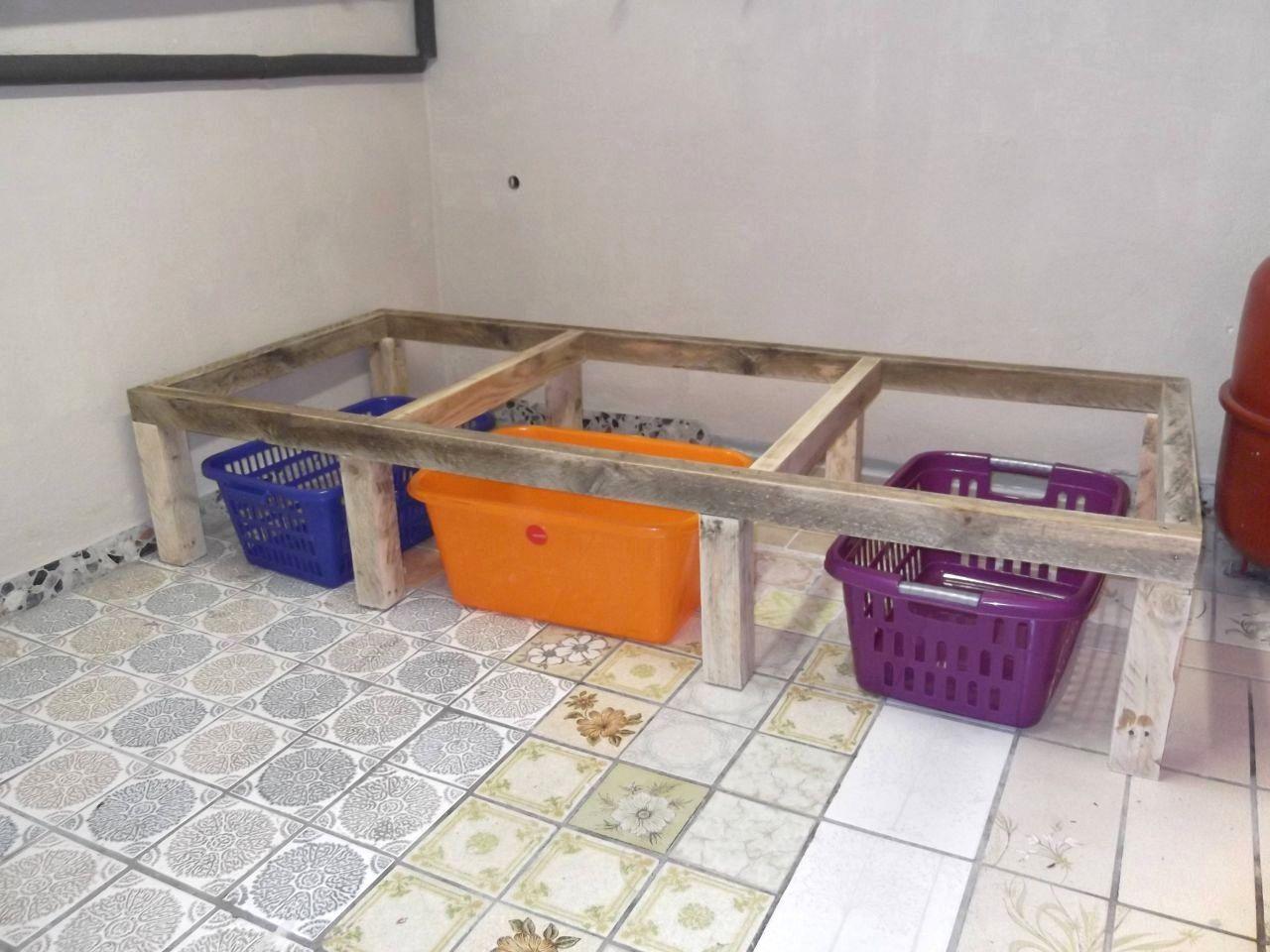Ideas Waschmaschinen Unterschrank Selber Bauen Kast Voor