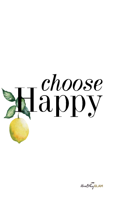 Great Choose Happy Quote Iphone Wallpaper. Lemon