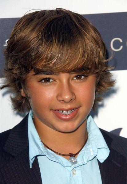 Boys Medium Length Hair Cuts Jansen Panettiere With Retro Teen