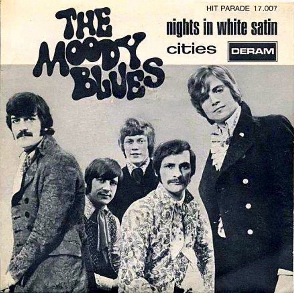 The Moody Blues Nights In White Satin Nights in white