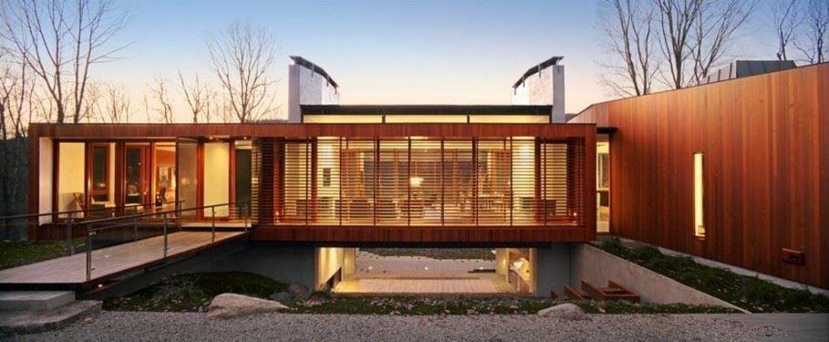 Maisons Modernes En Bois. Maison Cologique With Maisons Modernes En ...