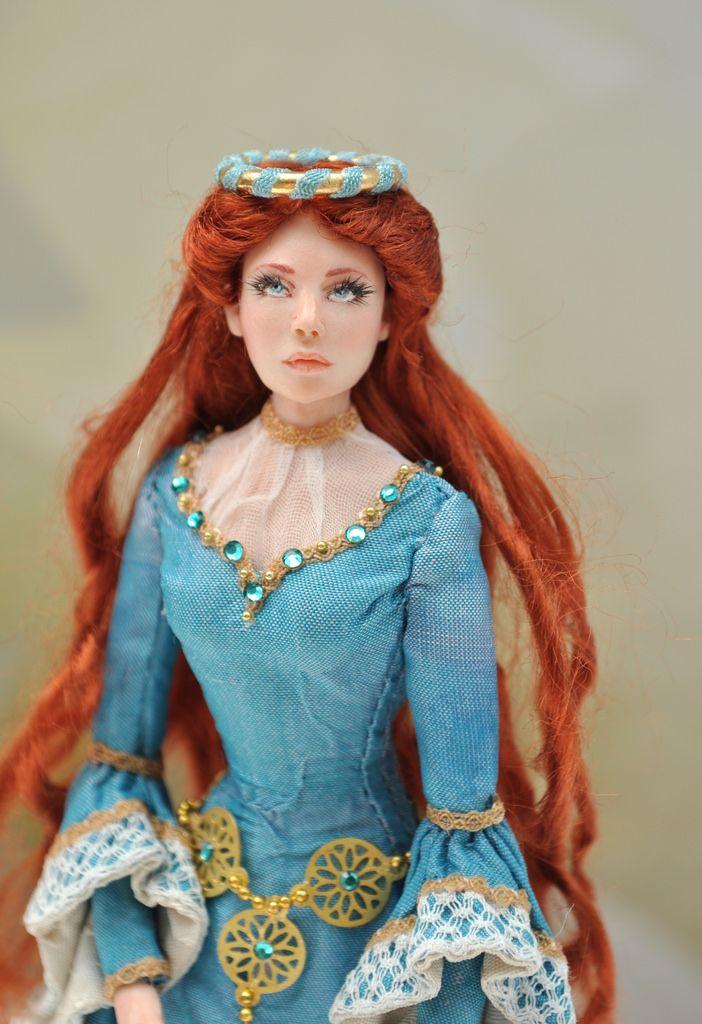 1:12 Scale doll by Elisa Fenoglio
