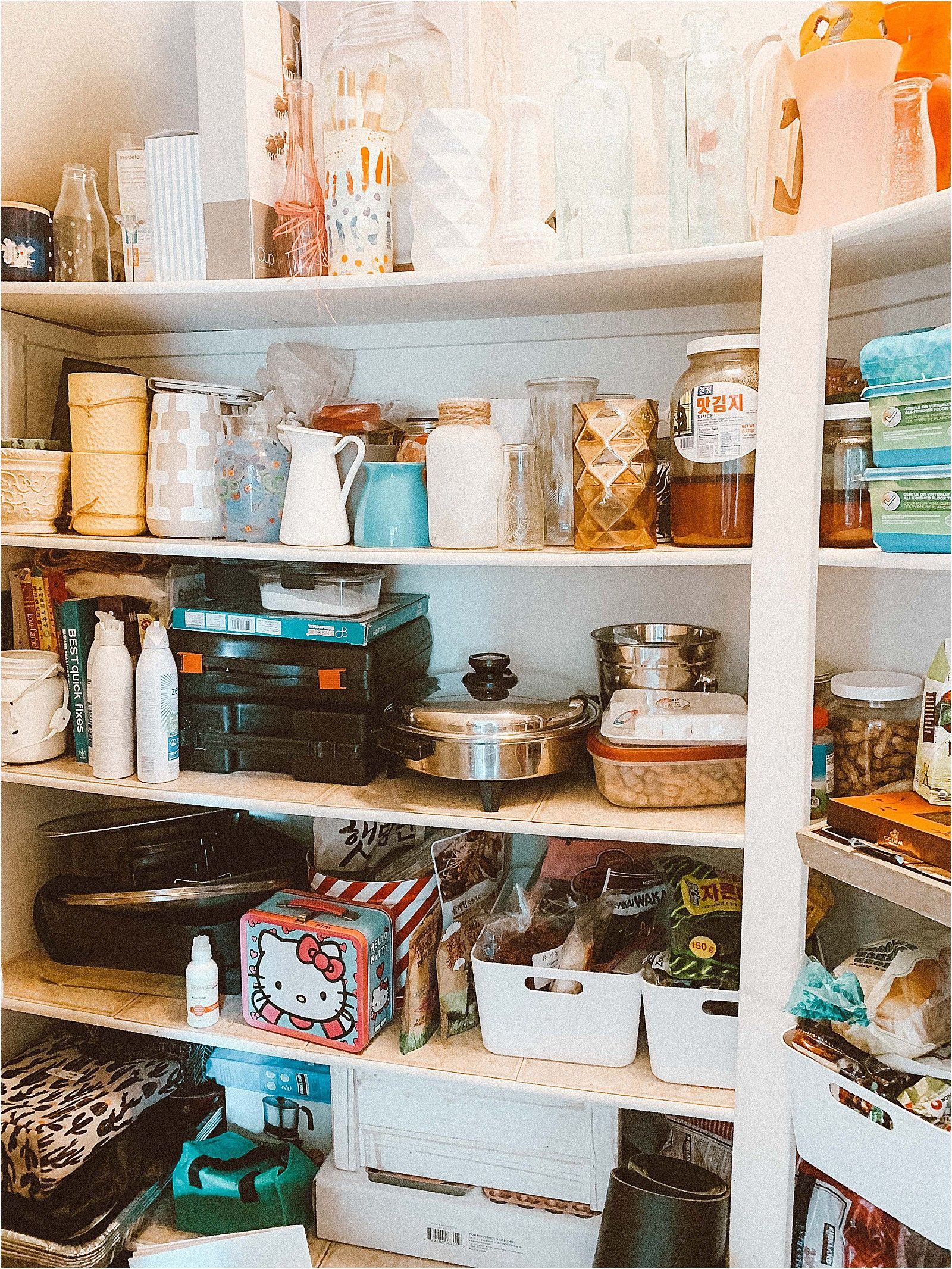 pantry makeover organize your pantry with simple storage solutions in 2020 kitchen on kitchen organization for small spaces id=25674