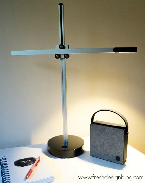 Modern design csys task lamp by jake dyson with led lights that will last full review on fresh design blog