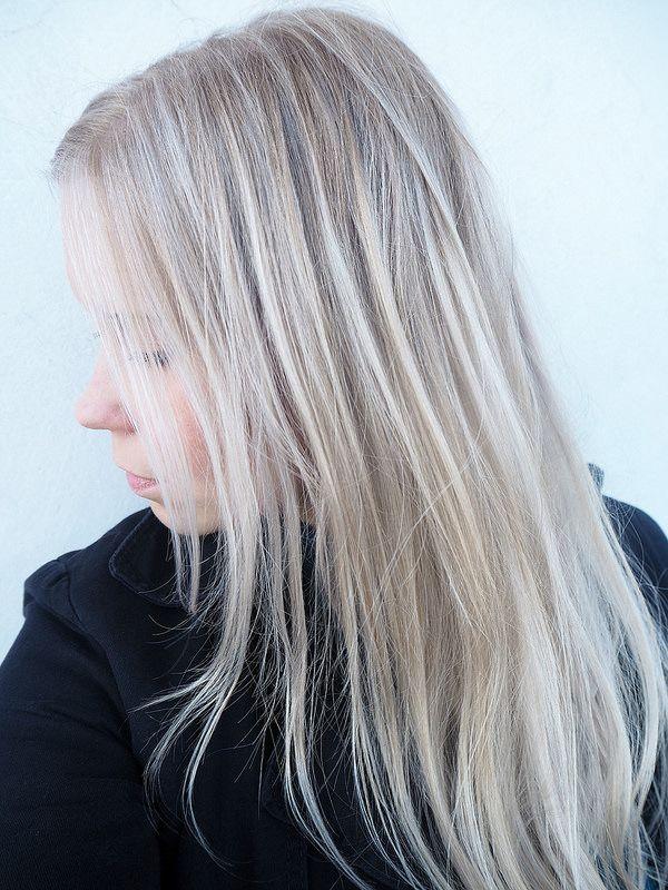 Perfect Blonde Summer Hair. blondhighlights. vaaleat raidat. pitkät hiukset. vaaleat hiukset ...