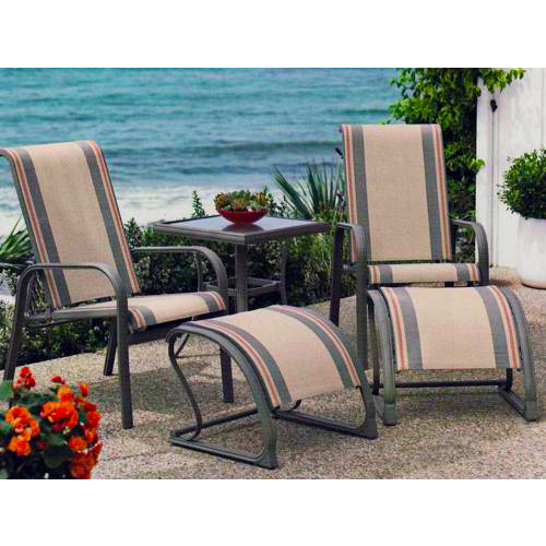 Costa Mesa 5 Piece Patio Seating Set Patio Seating Sets Outdoor Furniture Sets Patio Seating