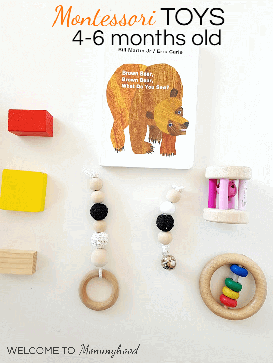 Montessori Toys for Babies: Useful Toys for 4-6 Months Old ...