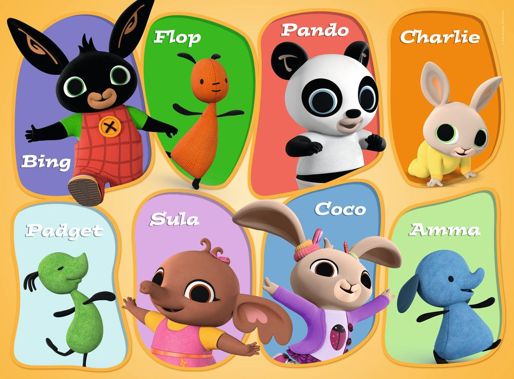 An Image Of The Characters Featured In Bing Bing In