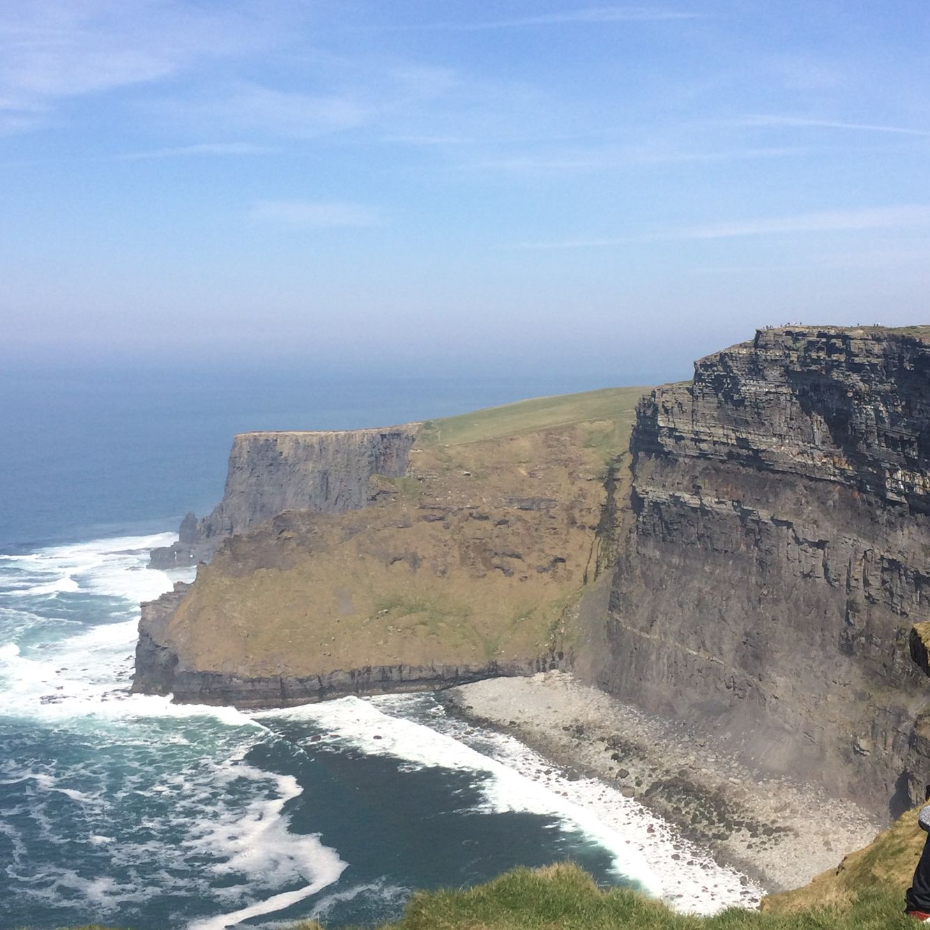 By the Cliffs of Moher