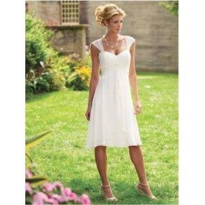 Premierdress Com Knee Length Wedding Dress Wedding Dresses Destination Wedding Dress