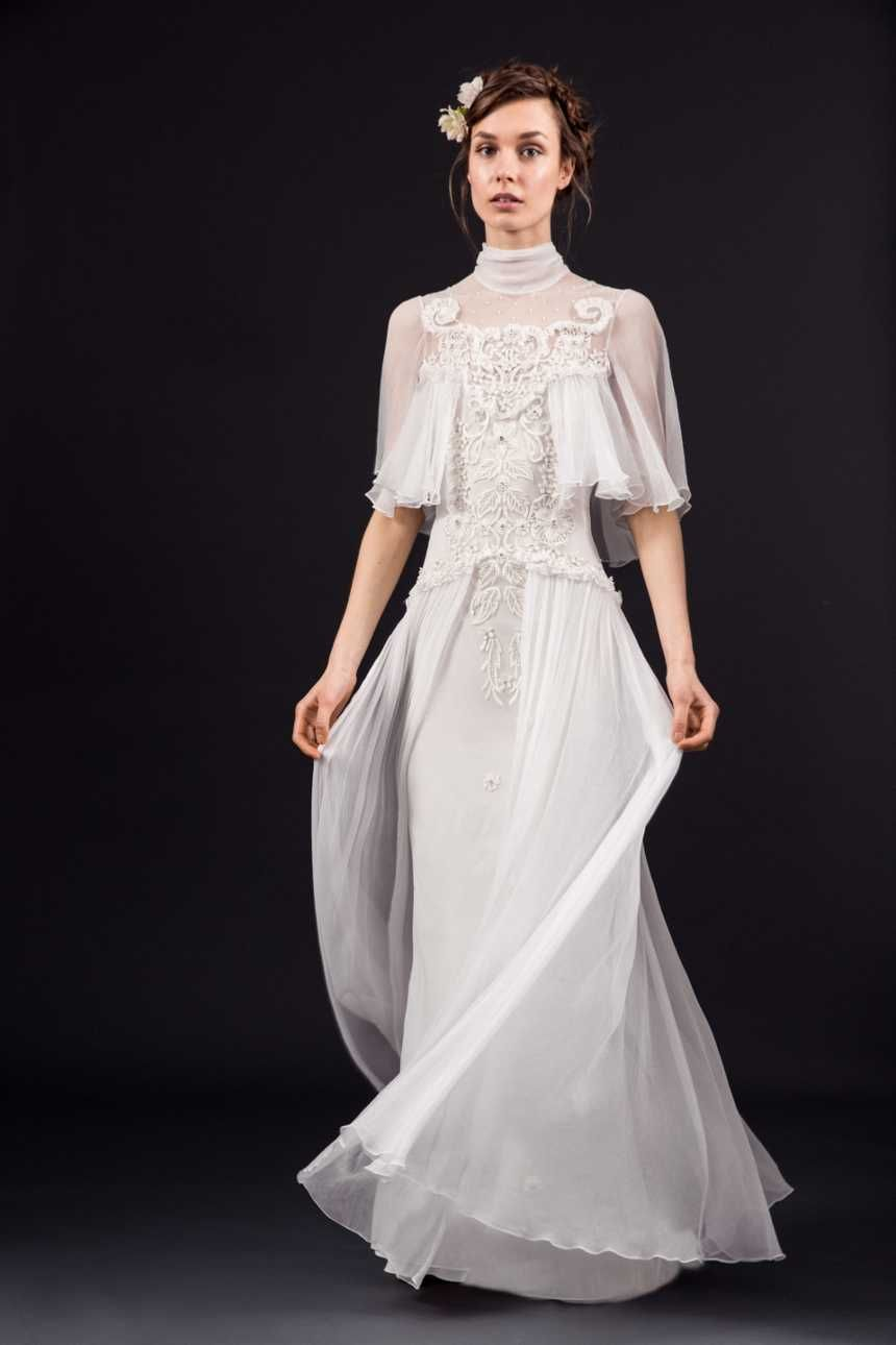 Rowena dress temperley bridal inspirational st century