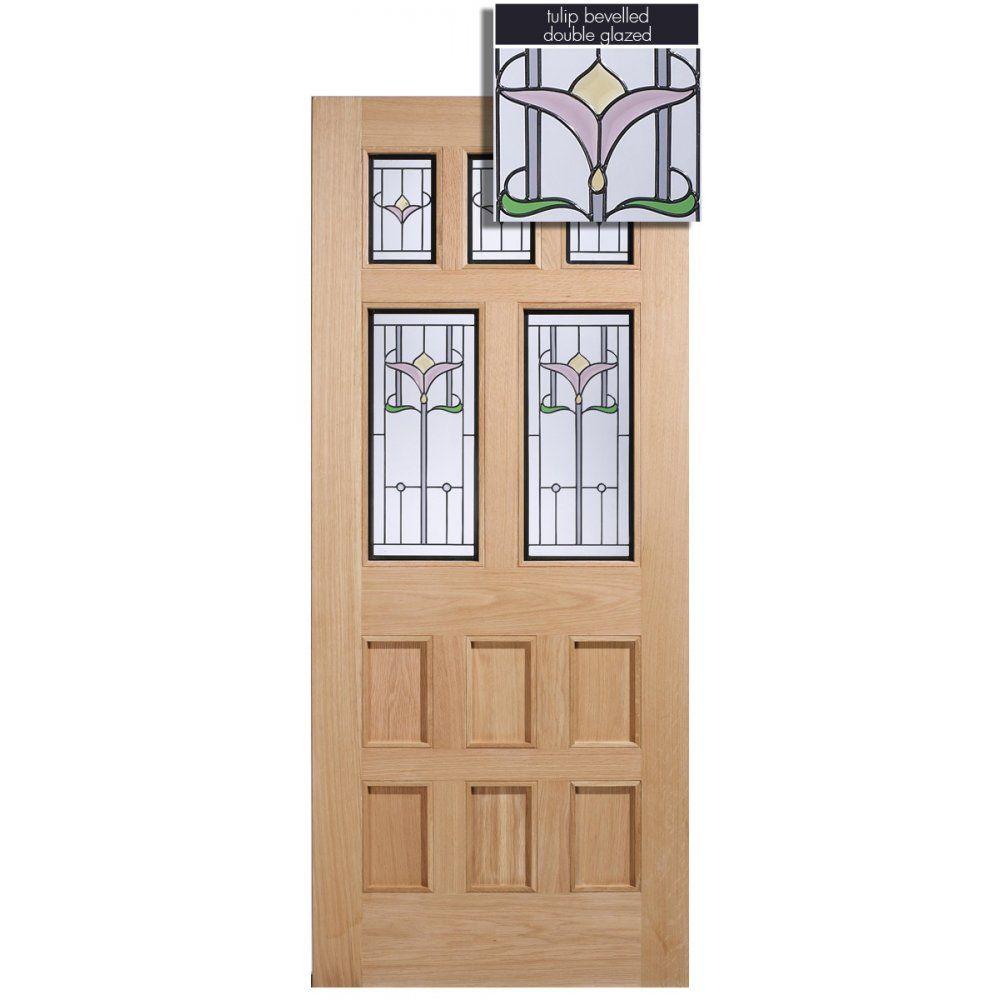 LPD Doors Adoorable Oak Knightsbridge 5 Light Double Glazed Exterior/External Door - LPD Doors from Period Property Store UK  sc 1 st  Pinterest & LPD Doors Adoorable Oak Knightsbridge 5 Light Double Glazed Exterior ...