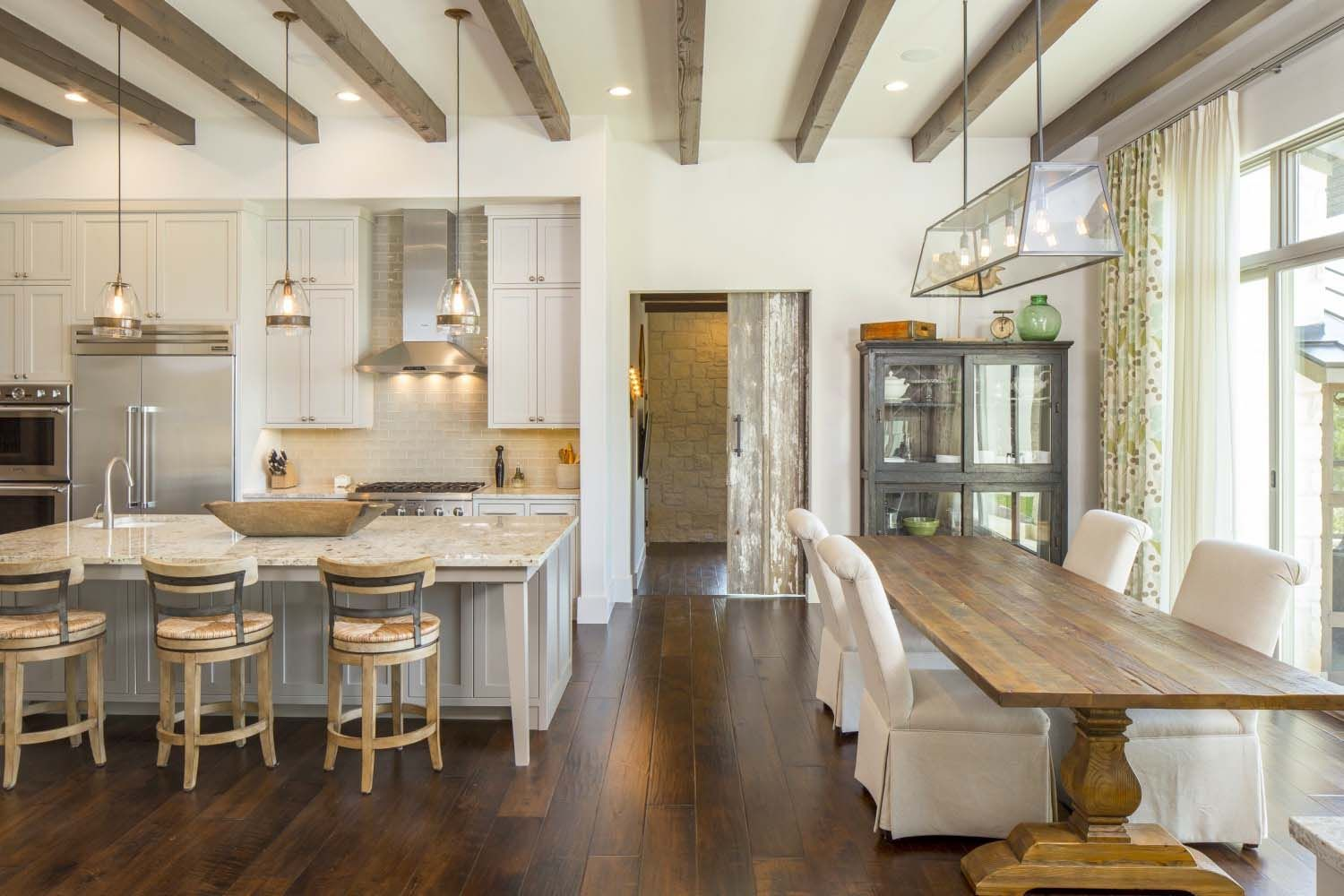 Images Of Modern Farmhouse Interiors European Farmhouse On A Texas Hillside Soaking In The