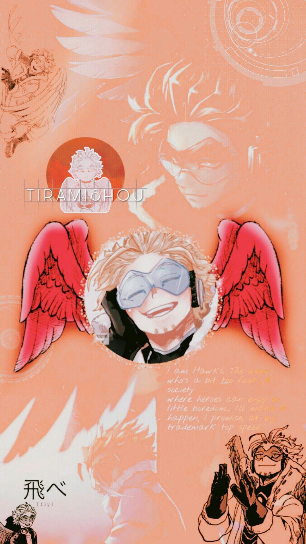 Image Gallery Hawks Takami Keigo Boku No Hero Hero Wallpaper My Hero Hero