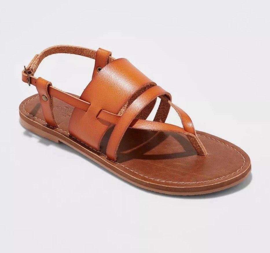 79943760c496 Universal Thread Sonora Thong Sandal Sz 11 Faux Leather Classic Casual Shoes   UniversalThread  ThongSandals  Casual