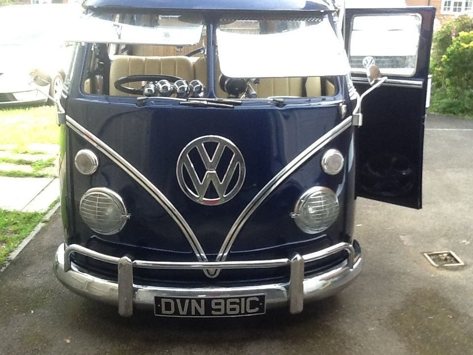 vw split screen camper van