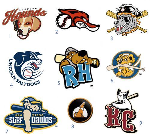 Minor League Baseball Dog Logos Dog Milk Fantasy Football Funny Minor League Baseball Logos