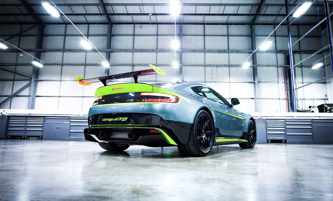 Vantage GT8 taking the V8 Vantage to dynamic new extremes