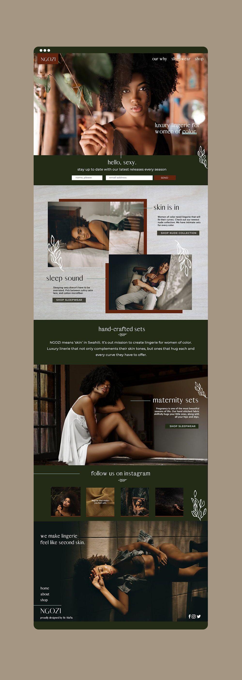 Lingerie E-Commerce Website
