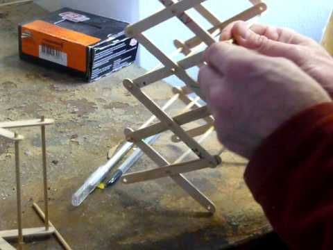 Student Robotics Thunderbots Scissor Lift Prototype With