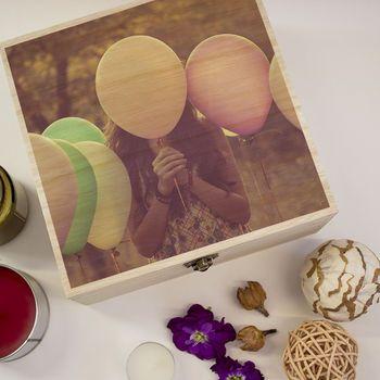 Custom Printed Wooden Box