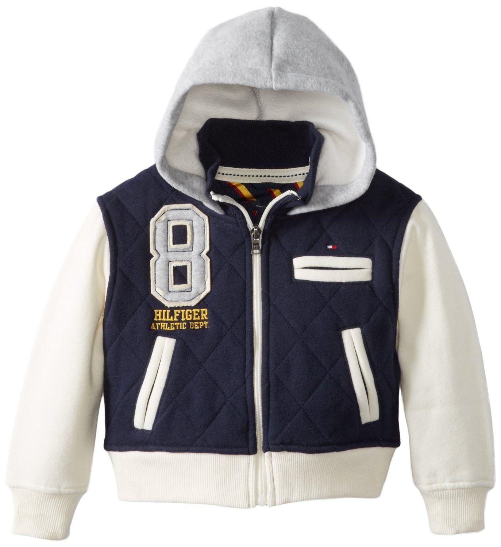 Amazon Com Tommy Hilfiger Little Boys Alcide Hooded Varsity Jacket Swim Navy 02 Regular Outerwear Jackets Clothi Varsity Jacket Jackets Outerwear Jackets [ 1500 x 1373 Pixel ]