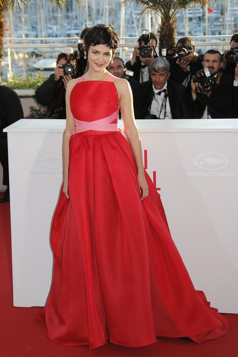 Audrey Tautou. Cannes 2013, Lanvin