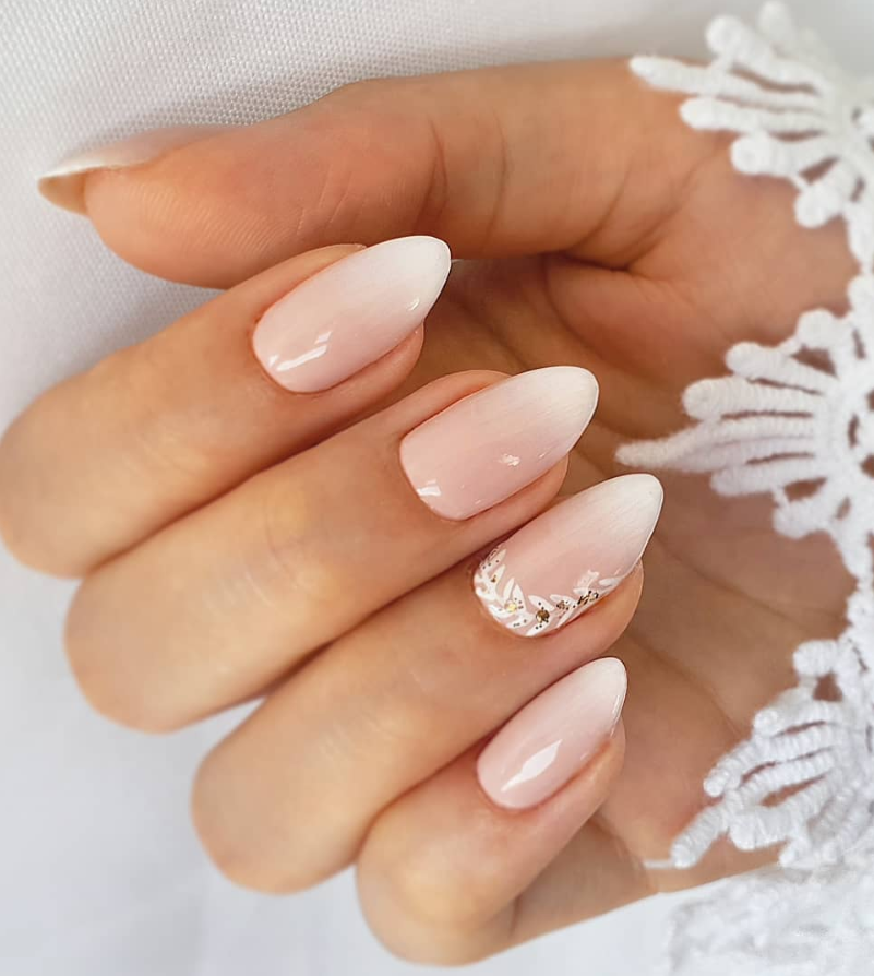 100+ Trendy Natural Short Acrylic Almond Nails Design For