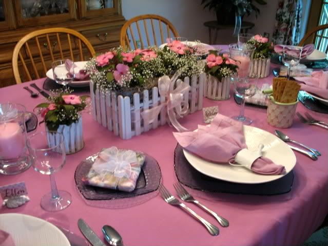 Spring luncheon tablescape elaborate party ideas