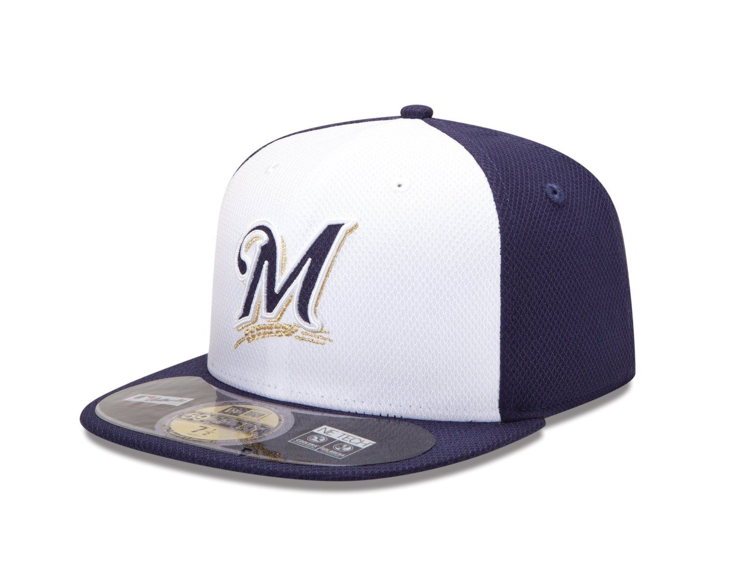 db80e4dff24b1 Diamond Era 59Fifty MLB Milwaukee Brewers Gorra de béisbol  Amazon.com.mx   Deportes y Aire Libre