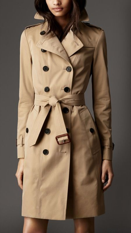 d943d8159e55b5 How to properly tie a classic Burberry trench coat knot in two ways ...