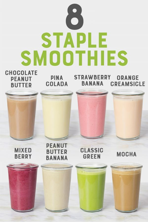 Staple Smoothies You Should Know How to Make