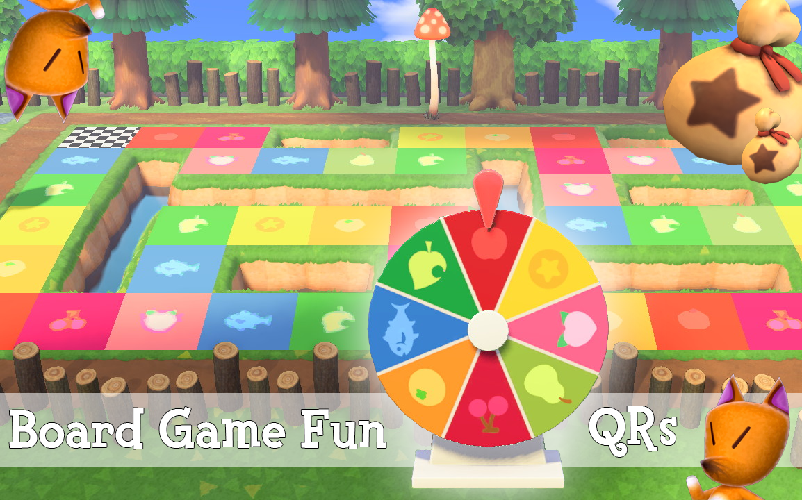 Reddit ACQR Board Game/Color Wheel QR Codes (link in