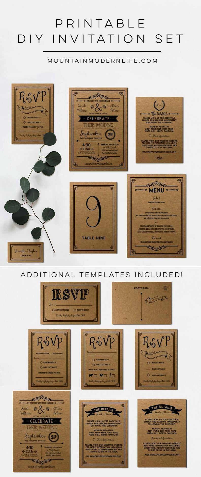 Unique wedding place cards diy wedding invitations letterpress