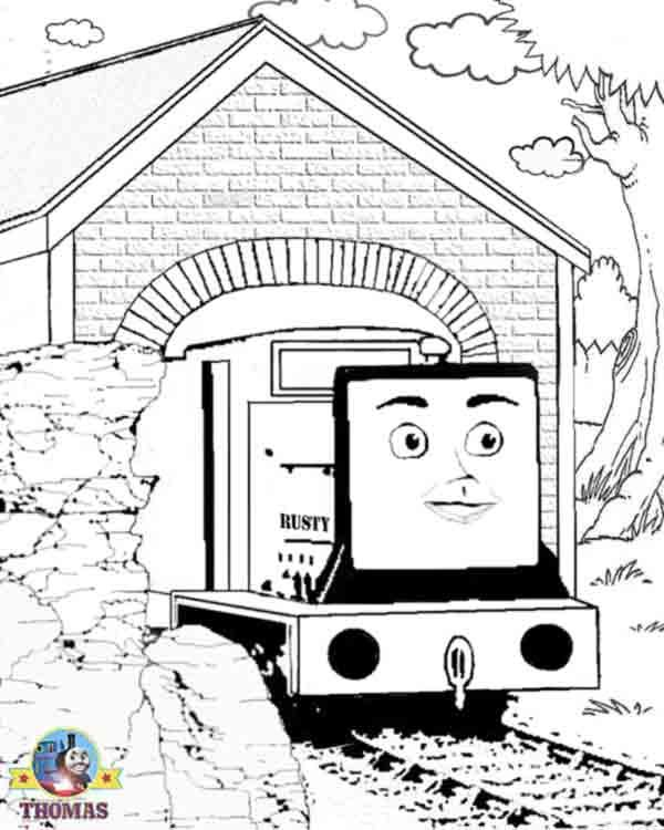 Coloring Pages Of Thomas The Train Coloring Pages Thomas The