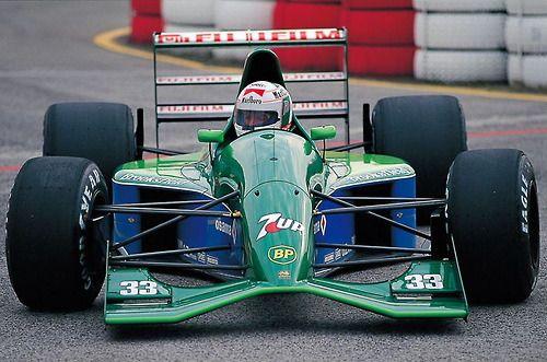 Andrea De Cesaris Jordan Ford 1991 フォーミュラカー 名車