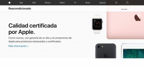 Apple renueva la sección de Productos Restaurados