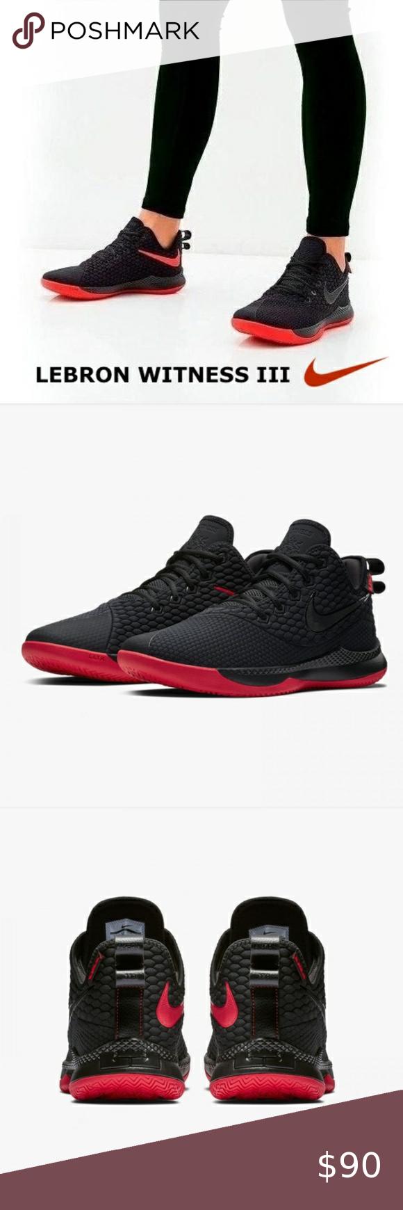Nike Lebron Witness III Basketball Shoe